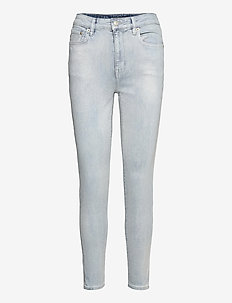 High-Rise Skinny Ankle Jean - skinny jeans - faint pearl blue