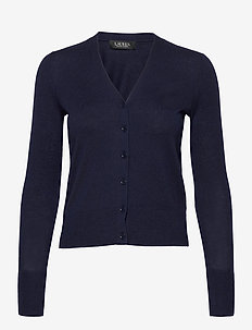 Cotton-Modal Cardigan Sweater - cardigans - french navy