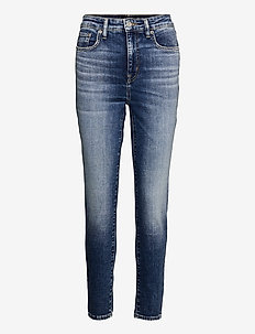 High-Rise Skinny Ankle Jean - skinny jeans - legacy wash