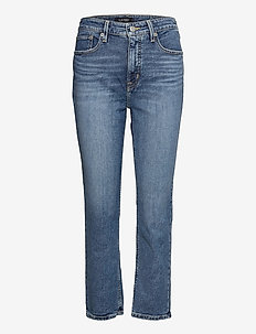 High-Rise Straight Ankle Jean - straight jeans - legacy wash