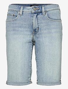 Cuffed Denim Bermuda Short - short en jeans - sun bleached wash