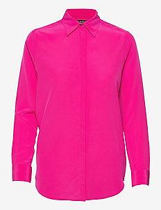 16MM SILK CDC-SHIRT - chemises à manches longues - nouveau bright pi