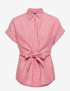 0 - overhemden met korte mouwen - bright hibiscus/