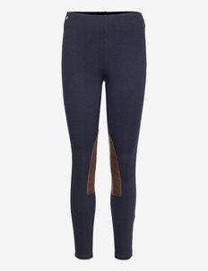 Ponte Jodhpur Skinny Pant - leggings - lauren navy/ chc