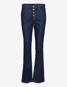 High-Rise Bootleg Jean - bootcut jeans - rinse wash