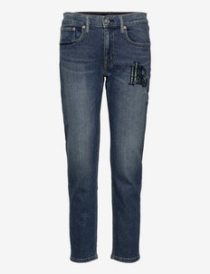 Relaxed Tapered Jean - tapered jeans - heritage indigo w