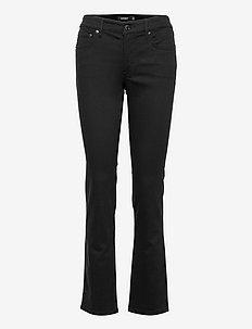 Modern Straight Jean - schlaghosen - black