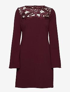 Lace-Yoke Jersey Dress - NEW POM/NEW POM