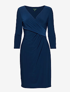 Surplice Jersey Dress - LUXE BRYL