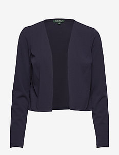 130H-LUXE TECH CRP-DONNA CARDIGAN - LIGHTHOUSE NAVY