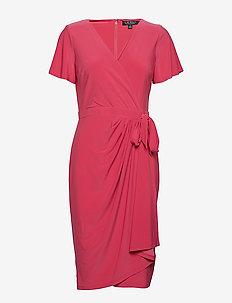 Faux-Tie Jersey Dress - STARFRUIT