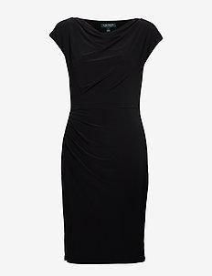 MID WEIGHT MJ-DRESS - midiklänningar - black