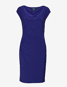 MID WEIGHT MJ-DRESS - midiklänningar - cannes blue