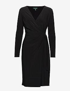 CLASSIC MJ-DRESS W/ TRIM - BLACK