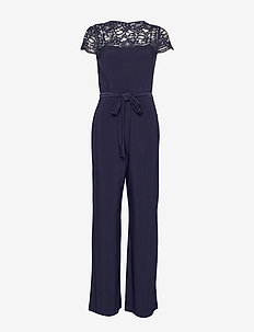 CLASSIC MJ-JUMPSUIT W/COMBO - LIGHTHOUSE NAVY