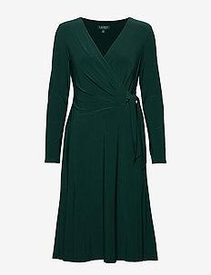 MID WEIGHT MJ-DRESS - omslagskjoler - dark fern