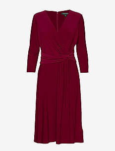 MID WEIGHT MJ-DRESS - DARK RASPBERRY