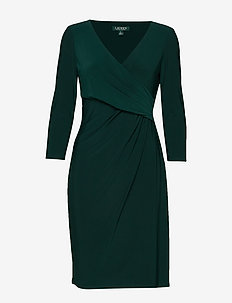 MID WEIGHT MJ-DRESS - DARK FERN