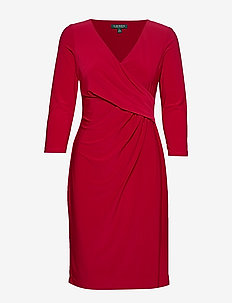 MID WEIGHT MJ-DRESS - SCARLET RED