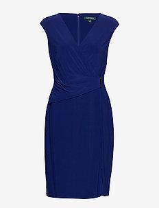 CLASSIC MJ-DRESS W/ TRIM - PARISIAN BLUE