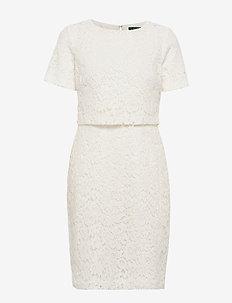 Popover Lace Dress - CREAM