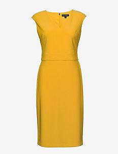 Jersey Cap-Sleeve Dress - korte kjoler - true marigold