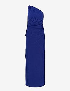 Georgette-Cape Gown - PARISIAN BLUE