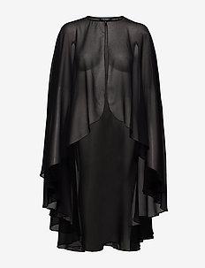 JELANI-CAPE - kimonos - black