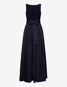 Taffeta Sleeveless Gown - maksimekot - lighthouse navy