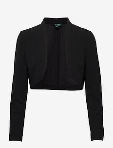 Jersey Cardigan - cardigans - black