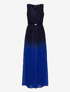 Ombré Georgette Sleeveless Gown - kveldskjoler - sapphire star/lh