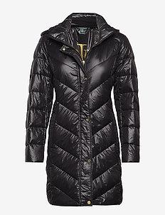 Chevron Jacket - BLACK