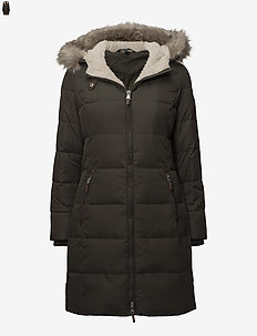 Quilted Down Jacket - padded coats - litchfield loden