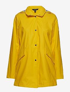 SLICKER-PU SLICKER W/AT HOOD - lette jakker - warm yellow