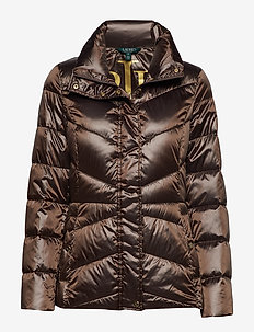 Packable Quilted Jacket - BRONZE