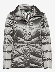 Packable Quilted Jacket - CHROME
