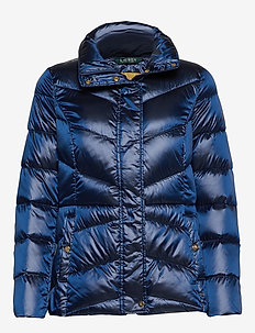 Packable Quilted Jacket - ICE BLUE