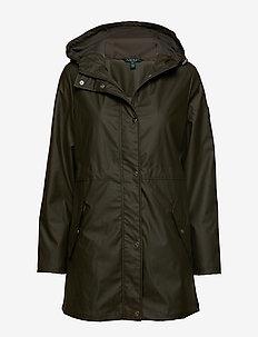 Hooded Rain Coat - LITCHFIELD LODEN