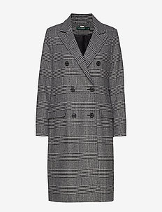 WOOL PLAID-NVL DB MAX - PRINCE OF WALES