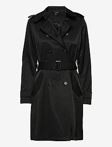 Trench Coat - trench coats - black
