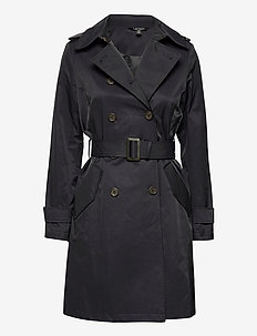 Trench Coat - trench coats - dark navy