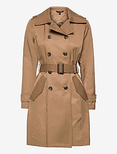 Trench Coat - trench coats - sand