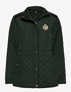 Quilted Jacket - quiltade jackor - hunter green