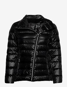 Asymmetrical Down Jacket - fôrede jakker - black