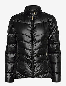 Down Moto Jacket - down- & padded jackets - black