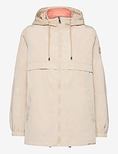 2-in-1 Anorak Coat - anoraker - beige