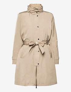 2-in-1 Vest and Coat - trenchcoats - taupe