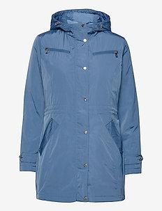 Anorak Jacket - parkacoats - slate blue