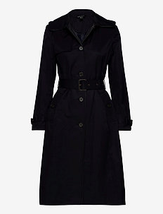 Maxi Trench Coat - trenchcoats - dark navy