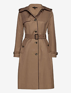 Maxi Trench Coat - trenchcoats - sand